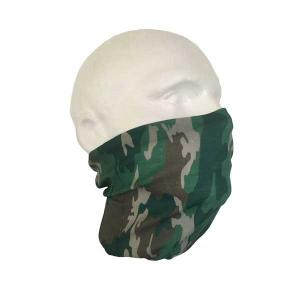 Camouflage Face Cover Snood - Pack of  2