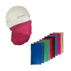 Plain Coloured Face Cover Snood - Pack of  2