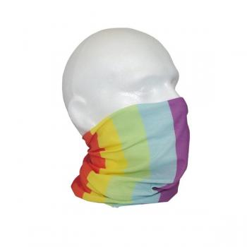 Rainbow Face Cover Snood - Pack of 2
