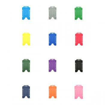 Antimicrobial ID Card Holder - Portrait - Pack of 10