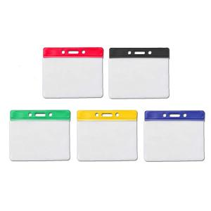Coloured PVC ID Wallet - Landscape - Pack of Ten