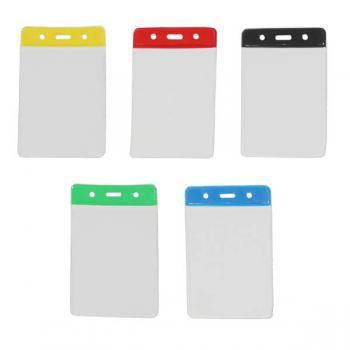 Coloured PVC ID Wallet - Portrait - Pack of Ten