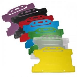 Plastic Single ID Cardholder - Landscape - Pack of Ten