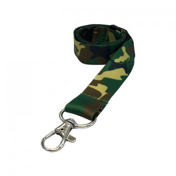 Camouflage Lanyards - 10 Pack