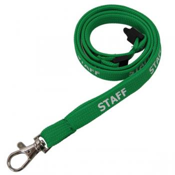 Staff Lanyard - 1cm Wide - Pack of Ten