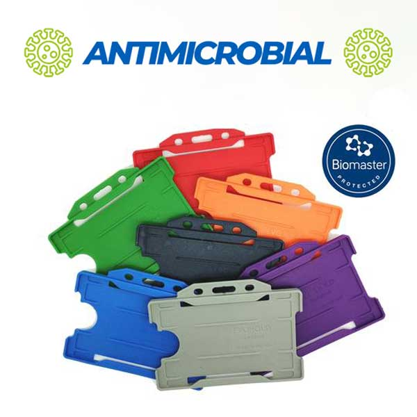 Antibacterial ID Card Holders