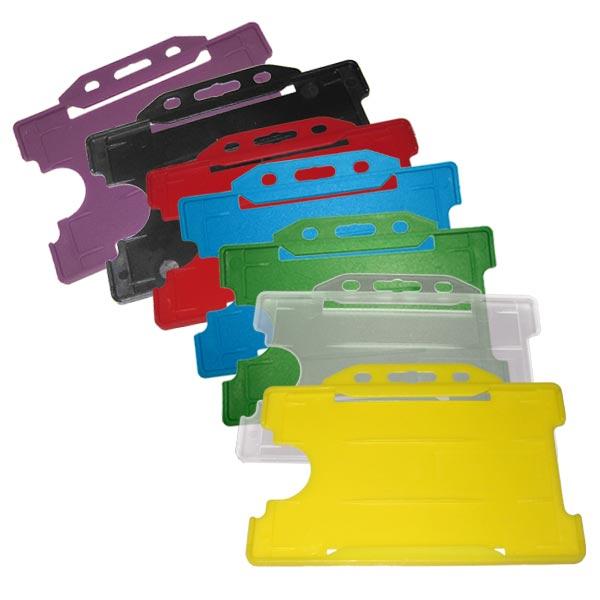 Rigid Plastic ID Cardholders