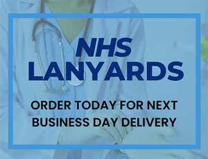 NHS Lanyards Mobile Banner